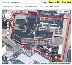 MIT Museum Route